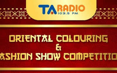 ORIENTAL COLORING & FASHION SHOW COMPETITION