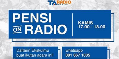 MAU PERFORM DI RADIO?